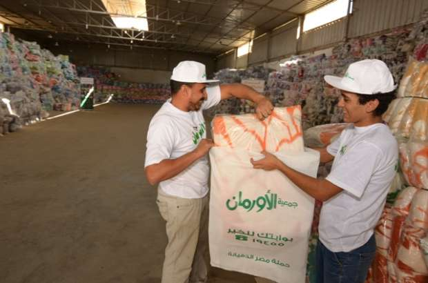 """""""جمعية الأورمان"""": توزيع 14 ألف بطانية على الأسر غير القادرة في مدن ومر"""