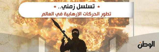 تسلسل زمني.. تطور الحركات الإرهابية في العالم