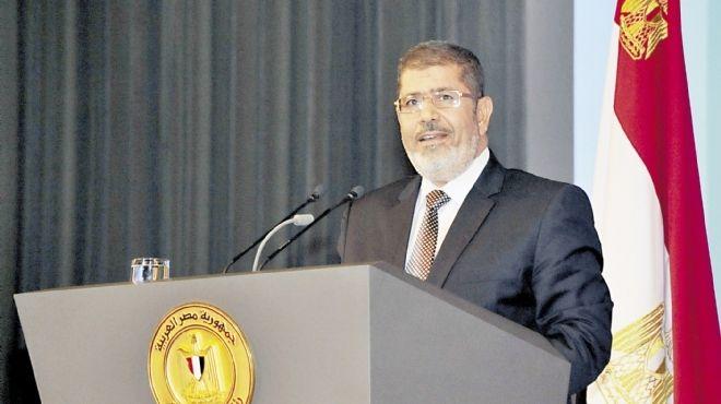 مرسي في حوار مع صحيفة كندية: أوضاع مصر بعد الثورة مثل