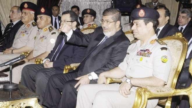«مرسى» و«السيسى» يفتتحان مشروعات أقامتها القوات المسلحة