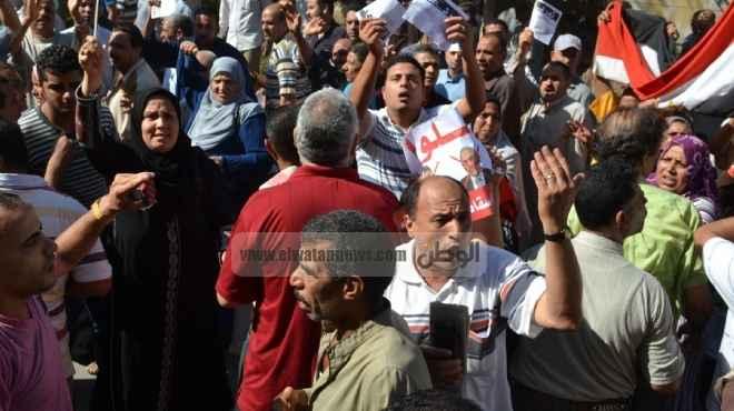 اعتصام العاملين بمرفق إسعاف بني سويف للمطالبة بإلغاء الخصومات والجزاءات