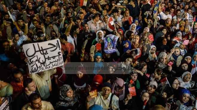 الثوار: «مرسى» فشل فى لعب دور المواطن.. والرئيس