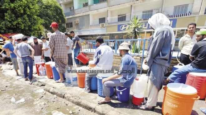 أزمة انقطاع المياه تهدد بورسعيد بعد انخفاض منسوب ترعة الإسماعيلية