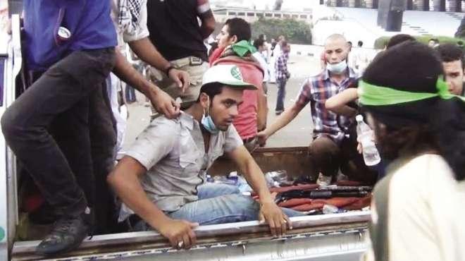 «أحرار الإخوان» تنشر صورة سيارة أسلحة تابعة لـ«98 اشتباك»