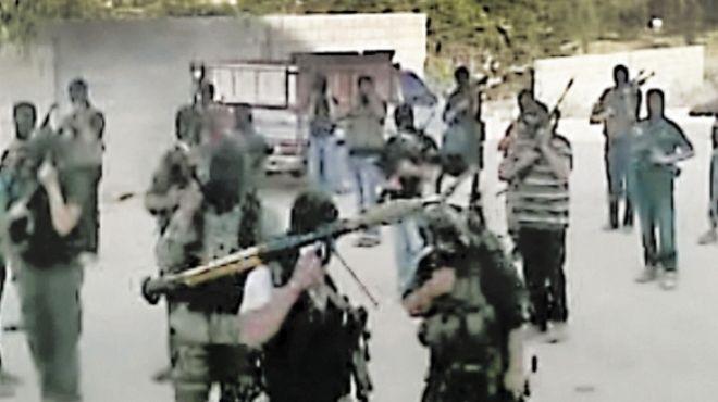 «الوطن» تنشر خارطة الإرهابيين: 3 معسكرات تدريب و15 نقطة تجمع