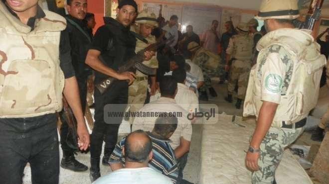 اعتقال 29 متهما وتدمير 20 بيارة و55 عشة حصيلة 50 يوما من الحملة الأمنية على سيناء