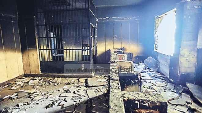 حبس 23 متهما بقرية دلجا في أحداث حرق محكمة مركز ديرمواس واقتحام نقطة شرطة