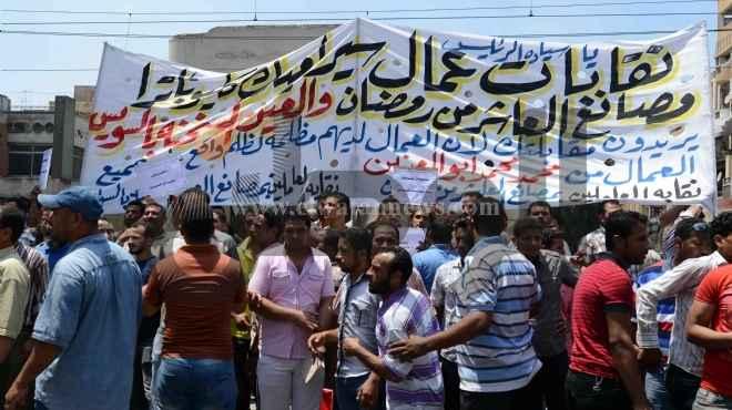 محامي عمال كليوباترا يحرر محضرا لحفظ حقوق العمال بعد قرار أبو العينين بغلق المصنع