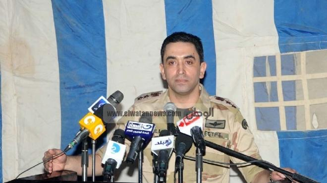 المتحدث العسكري: استمرار فعاليات التدريب المصري البحريني