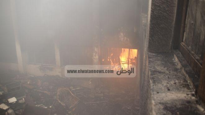 اندلاع النيران بمنزل في دمنهور.. و
