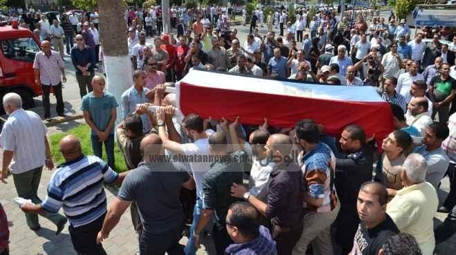 الملازم مصطفى جاويش.. تلقى 30 رصاصة فى جسده وهو يقول لقاتليه: «ارحمونى.. ارحمونى»