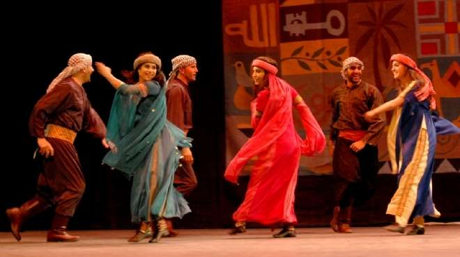 عرض فني لفرقة الآلات الشعبية والموسيقى العربية بقصر ثقافة بورسعيد