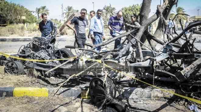 التحقيقات: انتحارى متنكر فى زى «عقيد شرطة» نفذ تفجير مديرية جنوب سيناء