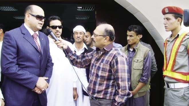 أبوزيد: محلب وافق على فتح طلبات تقنين أراضى وضع اليد بمطروح