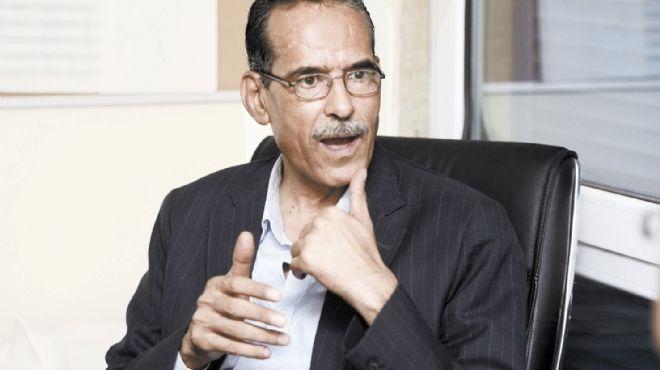 صباحي و القيادات السياسية في استقبال الراحل