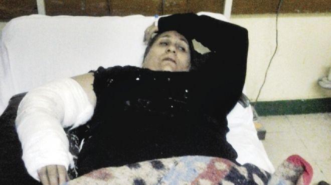 ماجدة: فقدت ابنتها وحفيدتها وأصيب زوجها