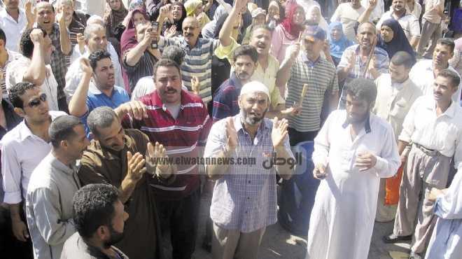 عمال المحلة يعودون لتصدر خريطة الاحتجاجات فى مصر