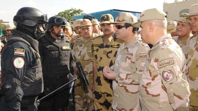 السيسي: مصر على أعتاب مرحلة فارقة من تاريخها ينتظر العالم نتائجها