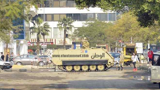 عاجل | الجيش يغلق الطريق أمام قسم الرمل أول بالإسكندرية قبيل مظاهرات الإخوان