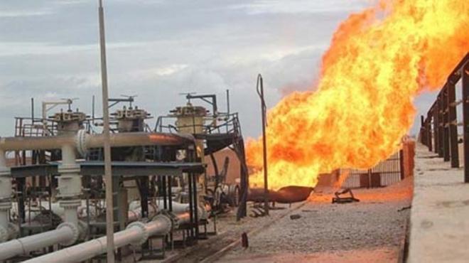انفجار خط الغاز بالعريش للمرة الـ