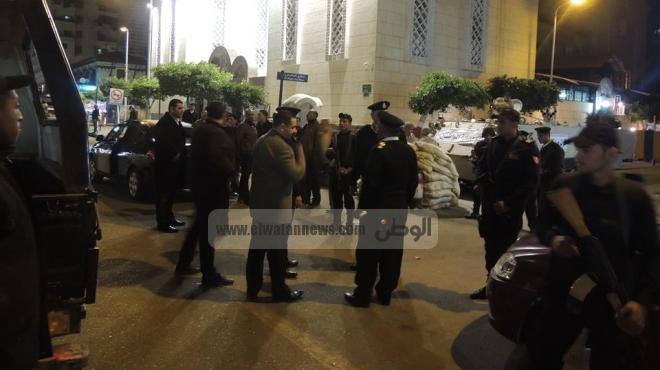 أحد أمناء الشرطة أثناء تأمين كنائس كفر الشيخ: جئت متوضئا ومستعدا للشهادة