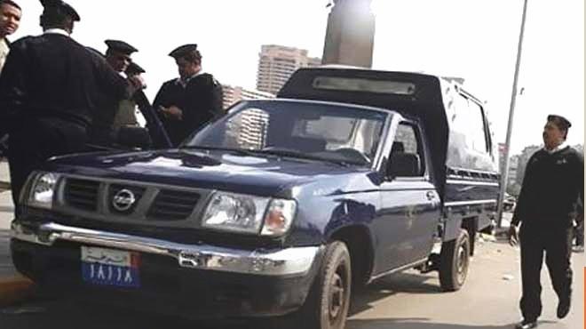 مباحث الغردقة تحاصر سيارة مقطورة بعد الاشتباه في حملها متفجرات
