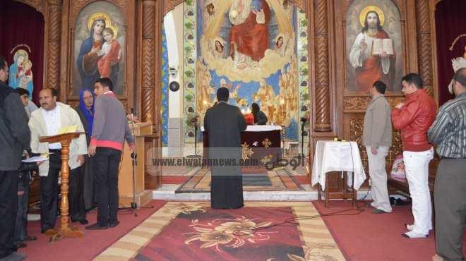 كنائس كفرالشيخ تستعد للاحتفال بعيد الميلاد بالصلوات من أجل مصر
