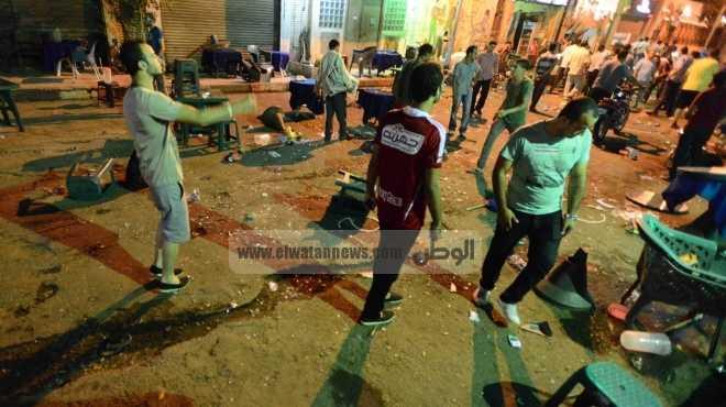 عاجل| اشتباكات بالأسلحة النارية بين مسلمين وأقباط في مركز ديرمواس بالمنيا