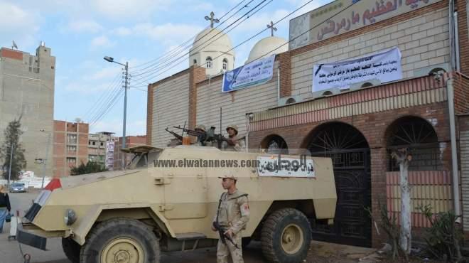 مواطنو الغربية يساعدون الشرطة في تأمين الكنائس