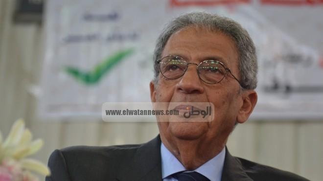 عمرو موسي يغادر للكويت لحضور مجلس امناء العلاقات العربية والدولية