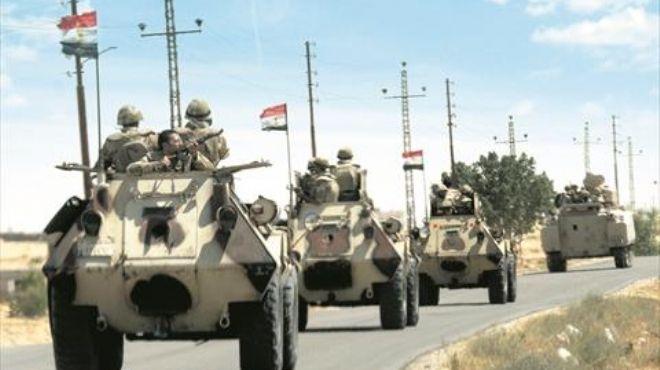 عاجل| الجيش يقتل 8 عناصر تكفيرية جنوب الشيخ زويد بينهم 6 من