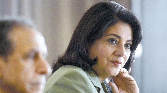 وزيرة الاعلام تطلب زيادة برامج علماء الازهر فى اذإعة القران الكريم
