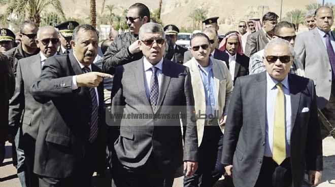 وزير الداخلية يفتتح  قسم الأطفال المبتسرين بمستشفى الشرطة بمدينة نصر