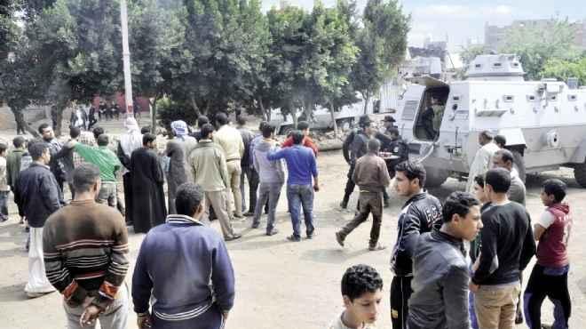 مواجهات الأمن مع الإرهابيين تصيب أهالى القرية بالرعب