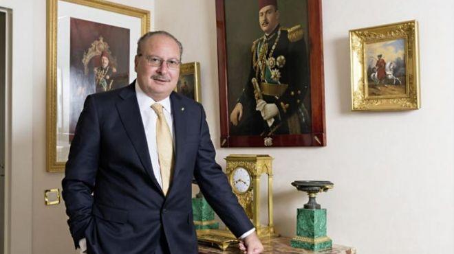 الملك فؤاد الثاني يهنئ المصريين بحلول شهر رمضان