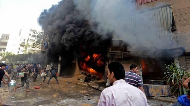 «جحيم أكتوبر» تعترف بحرق السجل المدنى ببنى سويف ومحولات الهرم