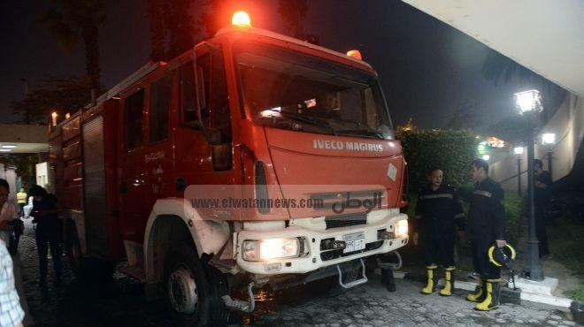 الحماية المدنية: إصابة 8 رجال إطفاء بالاختناق أثناء السيطرة على حريق