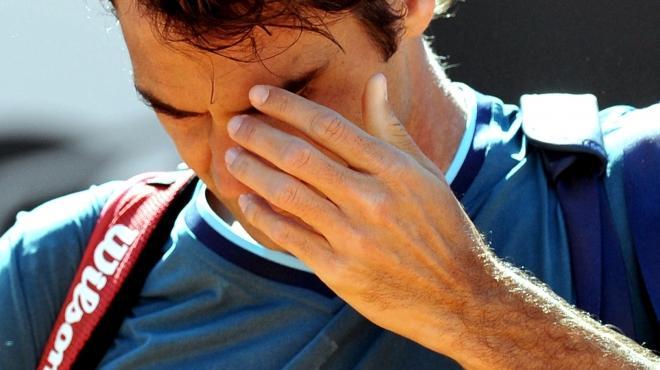 فيدرر يودع بطولة فرنسا المفتوحة للتنس