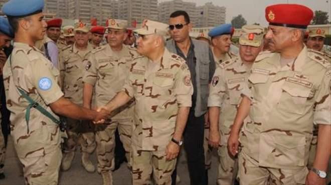 وزير الدفاع يشهد المشروع التعبوي