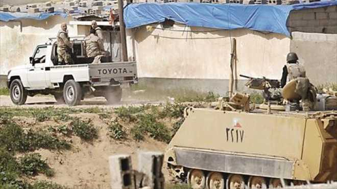 إحباط محاولة اغتيال قيادات أمنية فى موقع الهجوم الإرهابى بالعريش