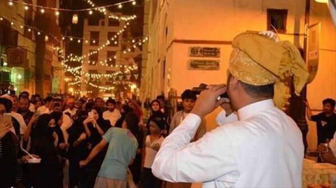 بالصور عودة ليالي رمضان في مهرجان جدة التاريخية الوطن