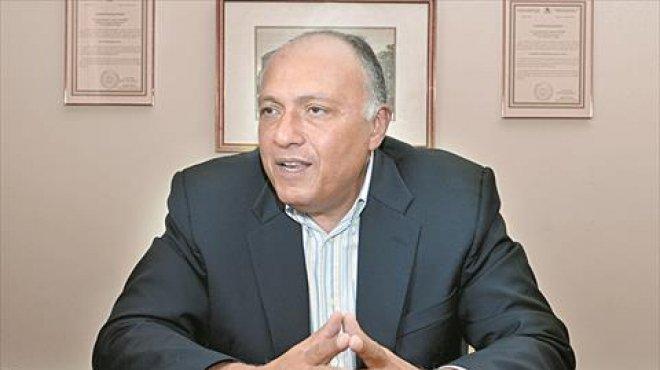 وزير الخارجية: تطورات أزمة ليبيا الأخيرة تحمل إنذارا للبشرية