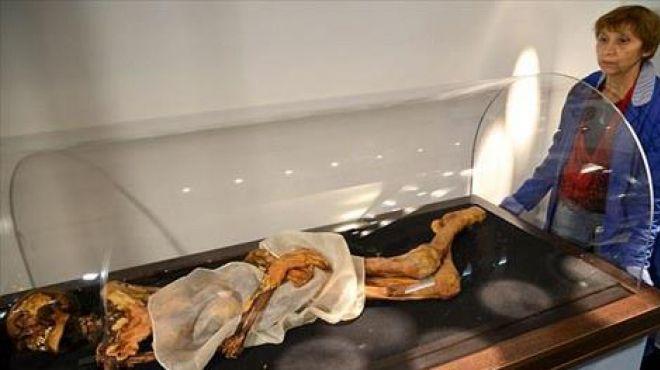 بالصور| العثور على مومياء أميرة في سيبيريا تسببت في كوارث طبيعية
