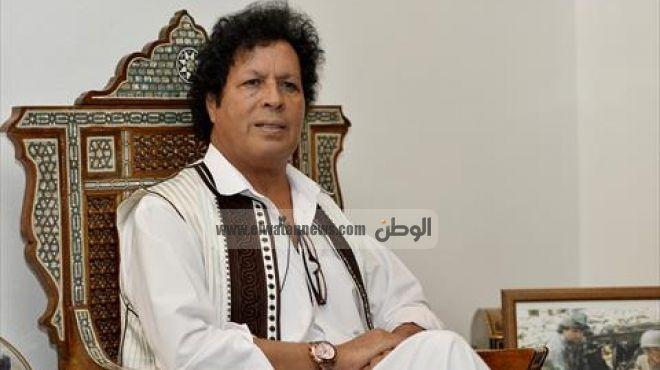قذاف الدم: لابد من راية سلام لحل أزمة ليبيا.. والإرهابيون ضحايا