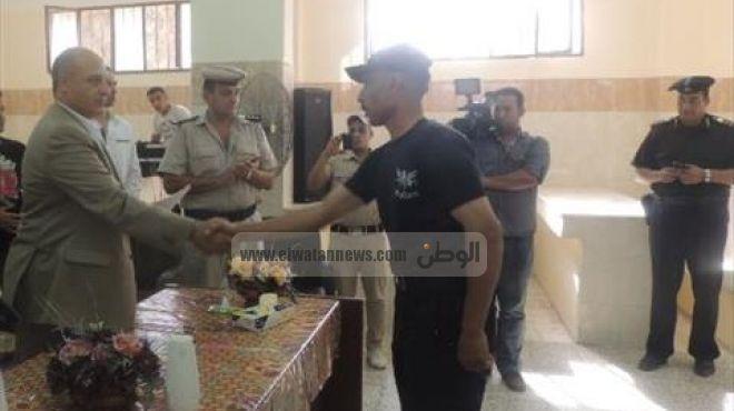 بالصور  مديرية أمن القليوبية تكرم ضباط وحدة مباحث الخانكة ومعسكر الأمن