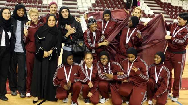 منتخب قطر للسلة النسائية يخسر أمام منافسه بسبب