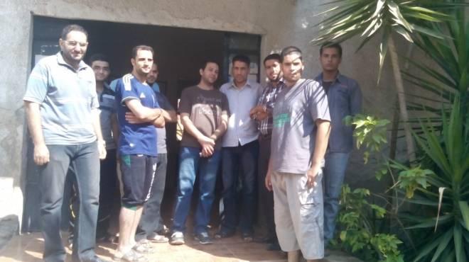 بالصور| رابطة شبابية تطلق حملة للنظافة بقرية شطانوف بالمنوفية