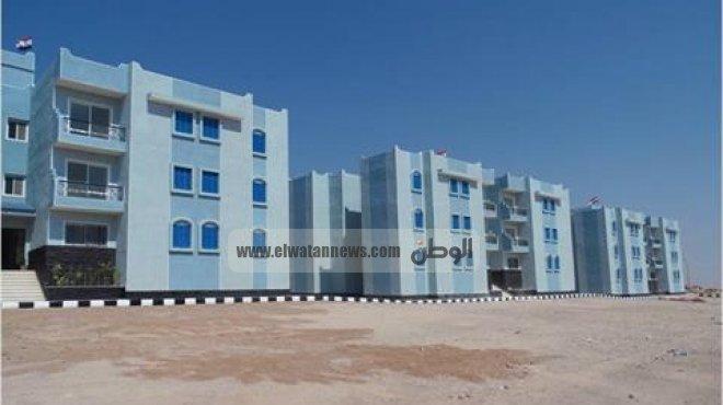بالصور| إنشاء 1500 وحدة في جنوب سيناء ضمن مشروع الإسكان الاجتماعي