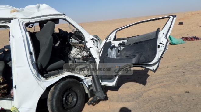 مصرع سائق ومهندس في حادث سير بطريق