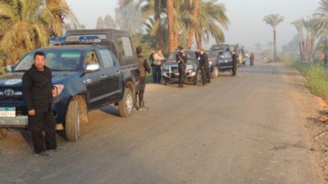 ضبط خلية إخوانية لقطع الطرق الزراعية في بني سويف
